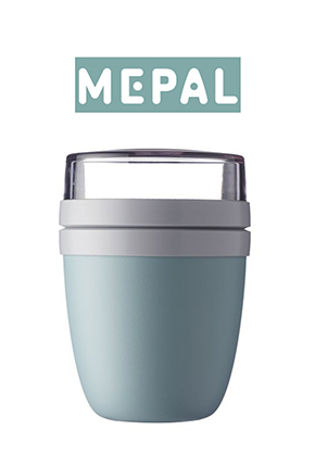 Mepal Lunchpot Ellipse - Nordic green